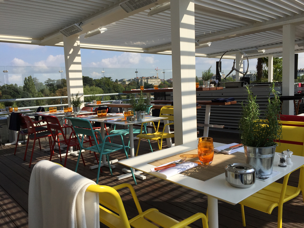 Toit Terrasse Molitor Avis : Le restaurant Toit Terrasse Molitor u00e0 Paris Fancyoli