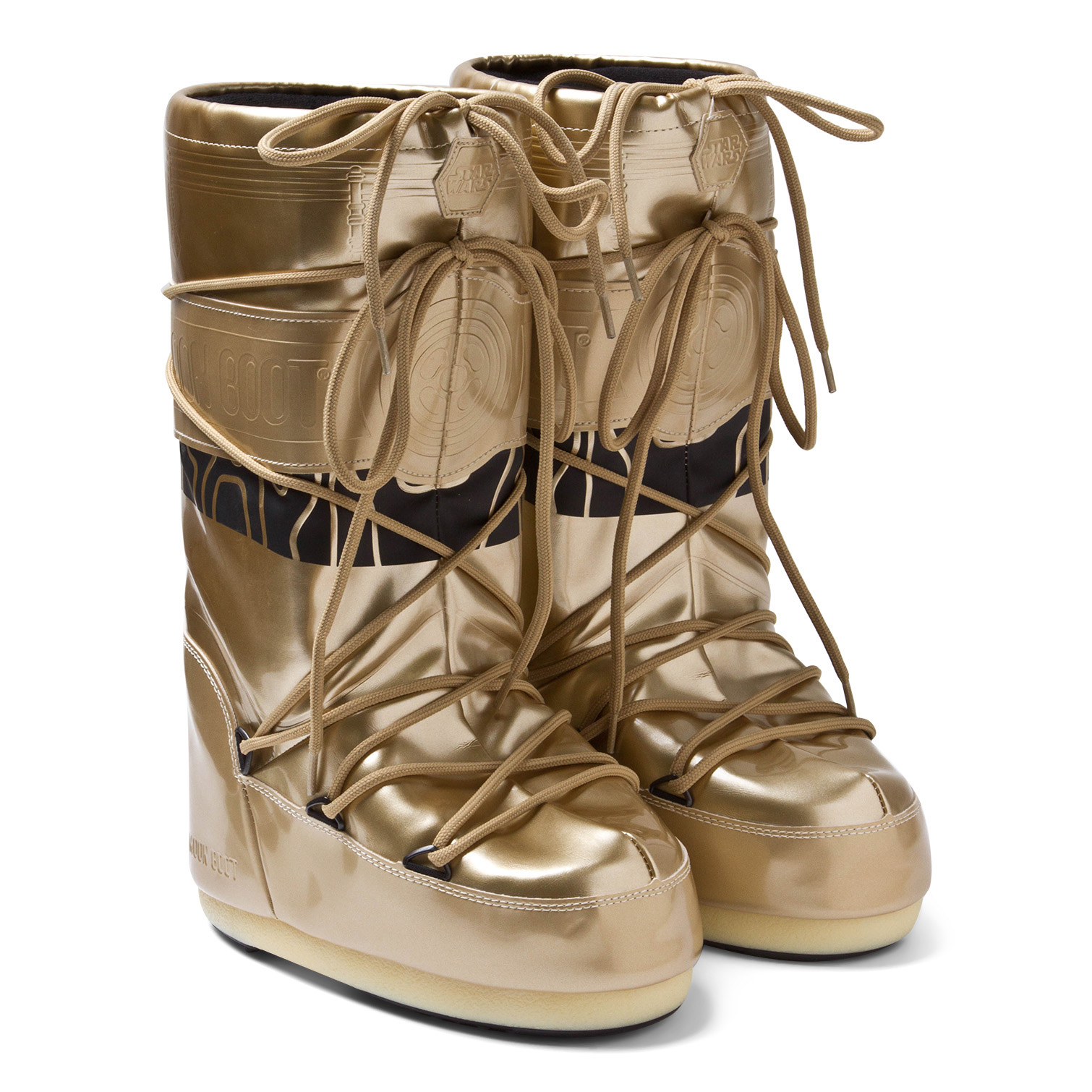 AlexandAlexa-Moon-Boot-Star-Wars-C-3PO-Moon-Boots-£125
